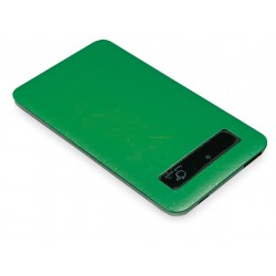 Power bank plana verde