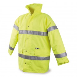 Parka reflectante amarillo l