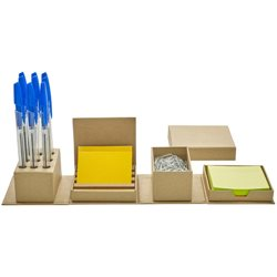 Cubo desplegable kit de escritorio oficina