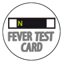 Fever Test Card